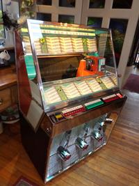 A beautifully restored jukebox for sale